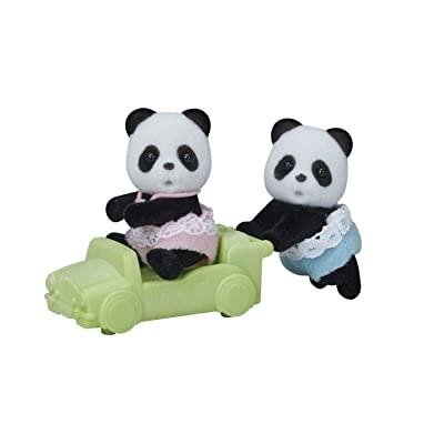 Calico Critters Wilder Panda Bear Twins: Toys & Games