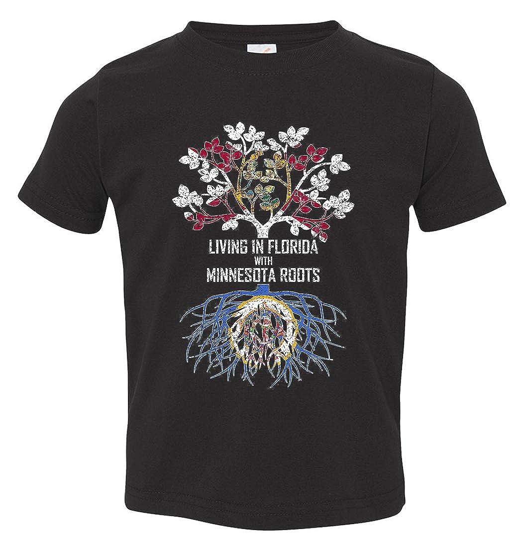 Tenacitee Babys Living in Florida with Minnesota Roots Shirt