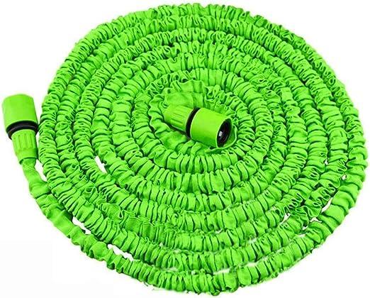 QWERTY Manguera Flexible ,Manguera de Jardín ,Manguera Expansible de Jardín Riego,Látex,mágico, Flexible, para Rociar El Césped, Verter Flores, Limpiar Autos (Size : 30m): Amazon.es: Hogar