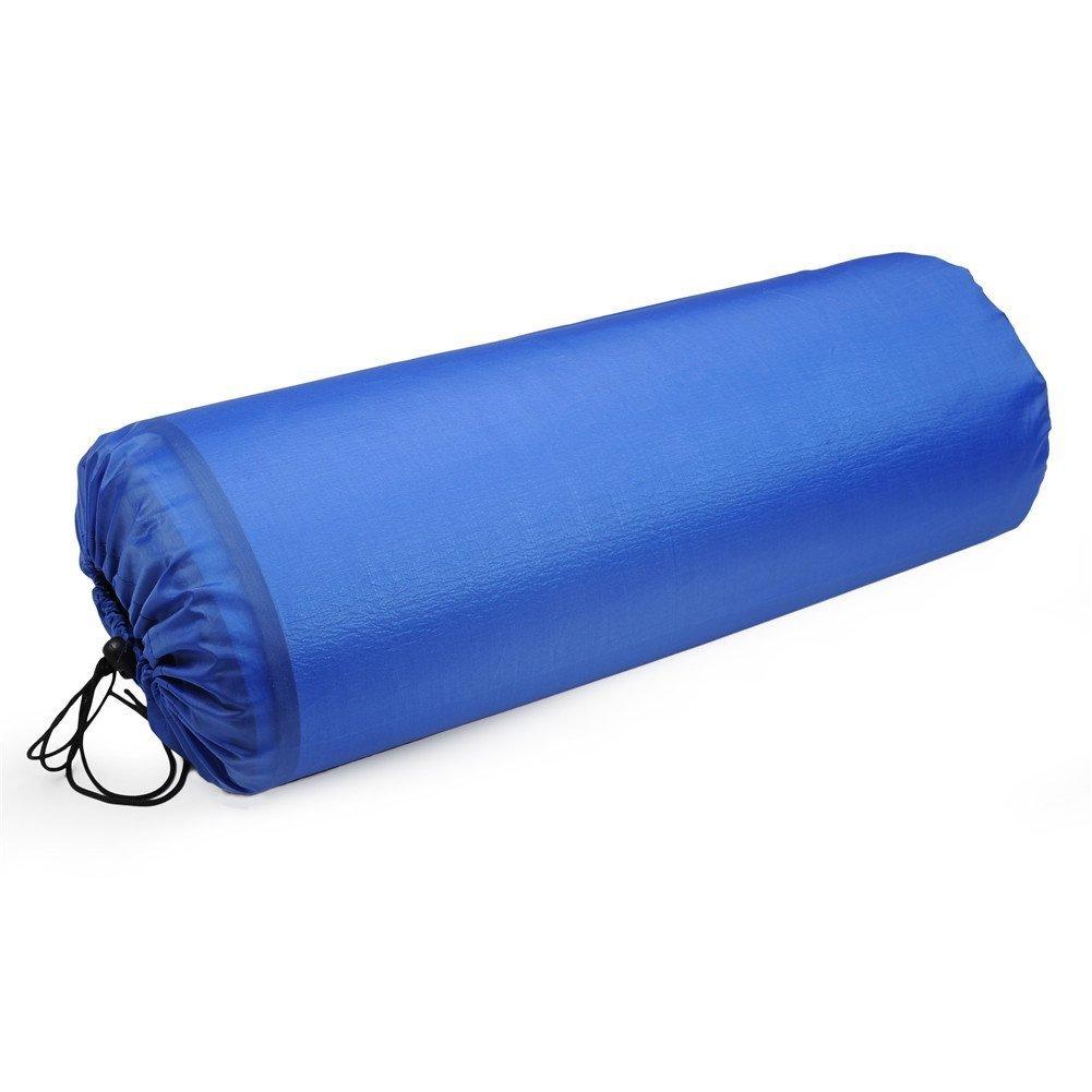 estera de c/ésped de la yoga que acampa del coj/ín que prueba la humedad Manta de Picnic de lado doble almohadilla de la estera pr/áctica de aluminio plegable impermeable al aire libre para la playa
