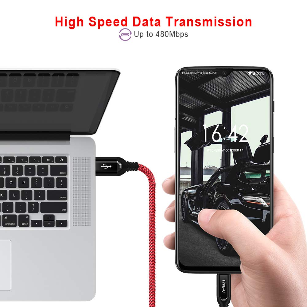 ACOCOBUY Adattatore Audio USB Tipo C Adattatore Audio Jack 3.5 mm Cavo Adattatore Audio Oneplus 6T Originale Compatibile con Oneplus 6t//Huawei Mate 20 PRO//Mate 10 PRO //P20//P20 PRO//Xiaomi 6//8//8 PRO.