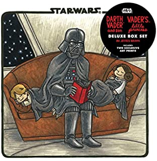 d31decfb Darth Vader & Son / Vader's Little Princess Deluxe Box Set (includes two  art prints