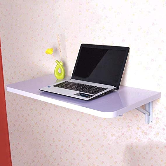 WGG Mesa plegable, pared, escritorio de hoja abatible de pared ...