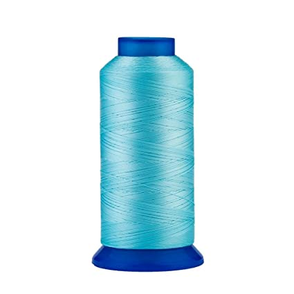 UV Resistant High Strength Polyester Thread #69 T70 Size 210D//3 for Upholstery Drapery Leather Beading Selric Purses 1500Yards // 130g // 30 Colors Available Outdoor Market Royal Blue