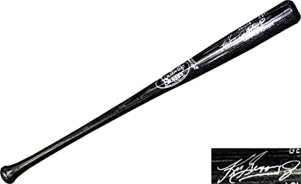 acab2f0a05 Ken Griffey Jr. Autographed Louisville Slugger Black Bat at Amazon's ...