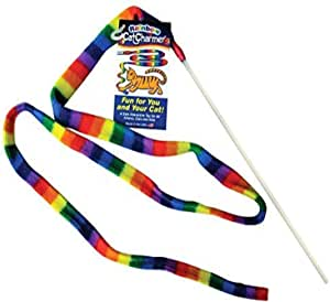 Cat Dancer Rainbow Interactive Cat Charmer Toy