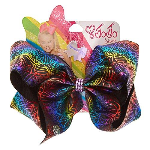 Claire's Girl's JoJo Siwa Spiderella Halloween Signature Hair Bow