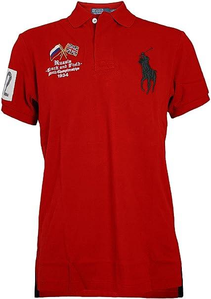 RALPH LAUREN Hombre Diseñador Polo Shirt Camisetas ...