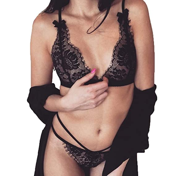 Bra + ropa interior,Morwind ropa interior mujer sexy conjuntos chaleco ropa interior mujer sexy