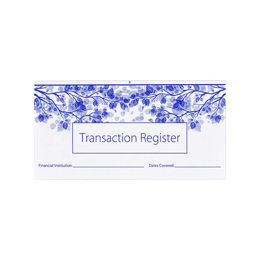Checkbook Registers for Personal Checkbook Transactions Ledgers Pack of 10 2020-2021-2022