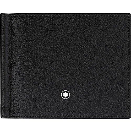 Montblanc Meisterstuck Men's Large Black Leather Card Holder Wallets ()