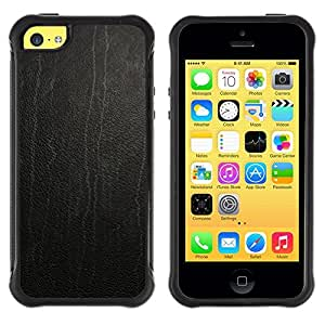 LASTONE PHONE CASE / Suave Silicona Caso Carcasa de Caucho Funda para Apple Iphone 5C / Skin texture Wood