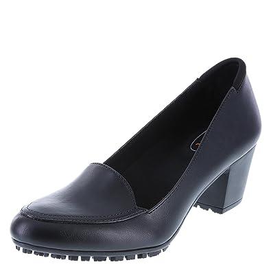 d56a62a562c0c safeTstep Women's Slip-Resistant Brittany Block Heel