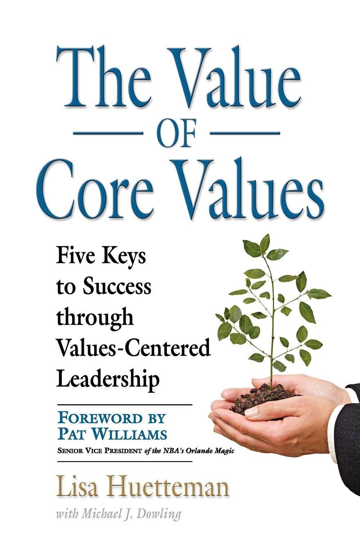 VALUE CORE VALUES Values Centered Leadership