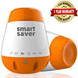 Portable Baby Sleep Miracle Soother Sound Machine (Including Free Baby Pacifier) 6 Soothing Sounds with USB Charging and Auto Off Timer - Versatile Clip for Strollers, Seats & More
