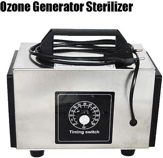 Generador de ozono Esterilizador con Interruptor de Tiempo ...