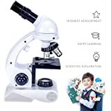 Kids Microscope, Fozela 80x 200x 450x Magnification Microscope Set Kit/Science Toys for Early Education
