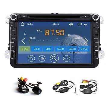Reproductor de DVD del Coche GPS Radio 8 Pulgadas para Volkswagen VW Polo Passat B6 CC