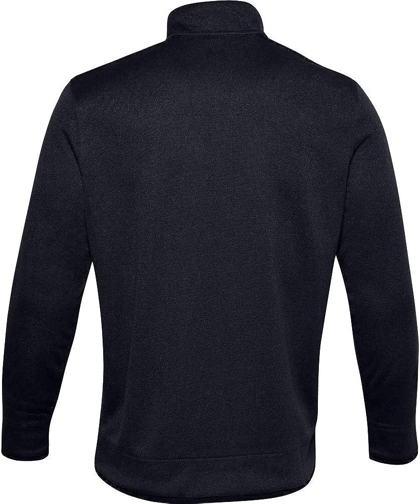 Under Armour Mens SweaterFleece 1//2 Zip Long Sleeves Warm-up Top
