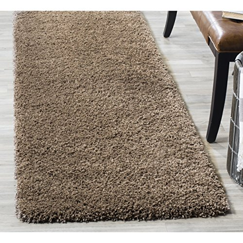 Safavieh California Shag Collection SG151-2424 Taupe Runner (2'3