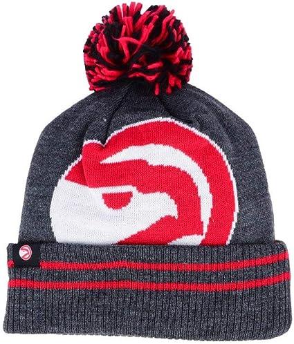 latest fashion hot sale online hot product Amazon.com : Mitchell & Ness Atlanta Hawks Hi5 Cuff Beanie Hat ...