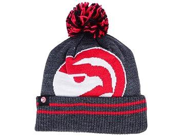 09f60e44e Mitchell & Ness Cuffed Basketball Beanie Hat with POM - NBA Knit Toque Cap
