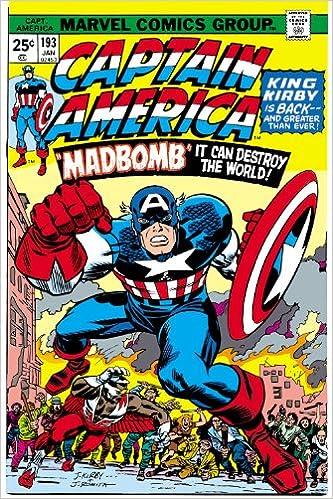 Captain America By Jack Kirby Omnibus Marvel Omnibus: Amazon ...