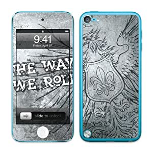 Diabloskinz B0082 - 0064-0005 vinilo autoadhesivo para Apple iPod Touch 5 G Way We Roll 2