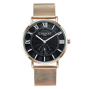 Reloj for Hombres, Correa de Acero Inoxidable, Reloj de ...
