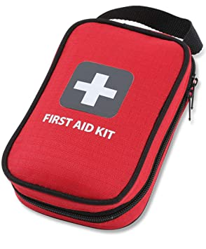 First Aid Kit – 100 Pieces – Bag. Packed With Hospital Grade Medical Supplies For Emergency And Survival Situations. Ideal For The Car, Camping,... by Thrive