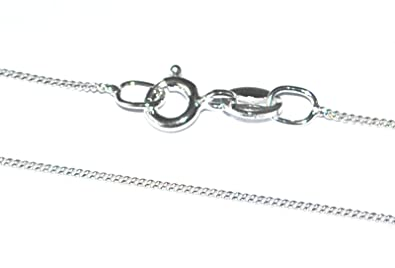 GENUINE 925 STERLING SILVER BALL/BEAD JEWELLERY NECK CHAIN NECKLACE - 1mm Guage - Various Lengths qLQOZabo