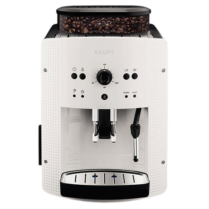 Krups EA810570 Cafetera automática 15 bares de presión, 1450 V, 1.6 L, acero inoxidable + Espresseria Automatic Pastillas limpiadoras para maquinas de ...