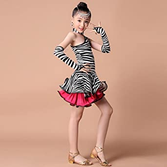 9ccea6909772 save off 91e27 4f6b2 rucan toddler kids girls leopard latin dance ...