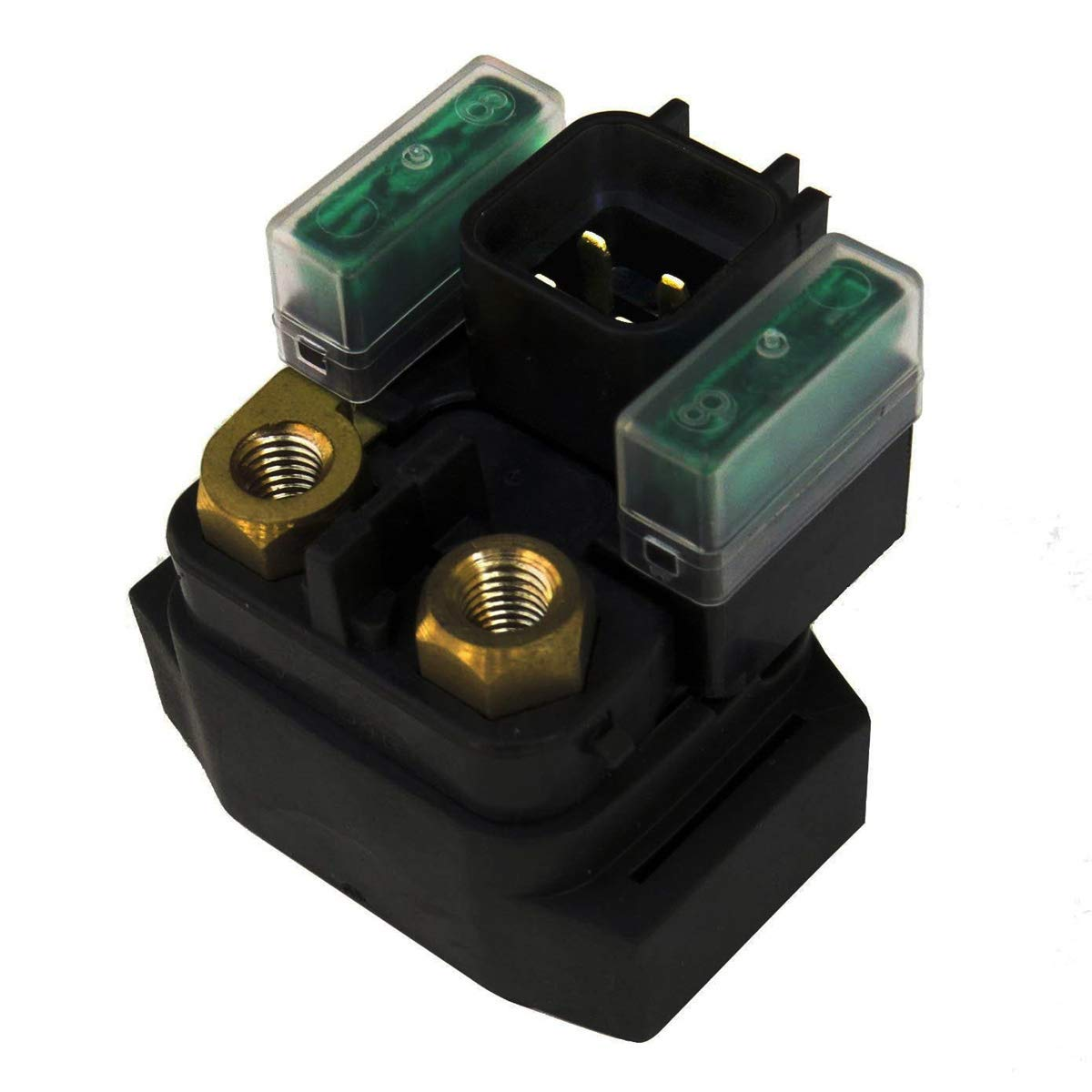 Amhousejoy Starter Solenoid Relay Fits for Suzuki 250 LT-F250 Quad Runner Ozark 2003 2004 2005 2006 2007 2008 2009
