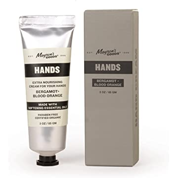 best selling Bergamot and Blood Orange Hand Cream by Mayron's Goods
