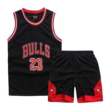 6b8a3428600c5 Nest Home Enfant garçon NBA Michael Jordan # 23 Chicago Bulls Short de  Basket-Ball