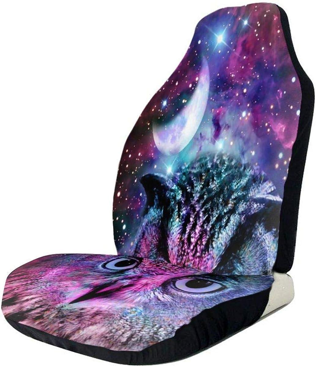 Cuscino di protezione per seggiolino auto Owl Moon Galaxy ...
