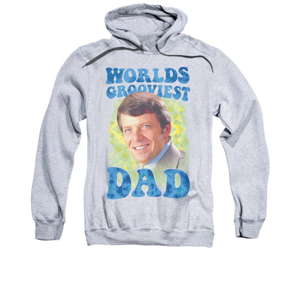 2Bhip Brady bündel 1970 familie sitcom tv-show grooviest dad hoodie für Herren