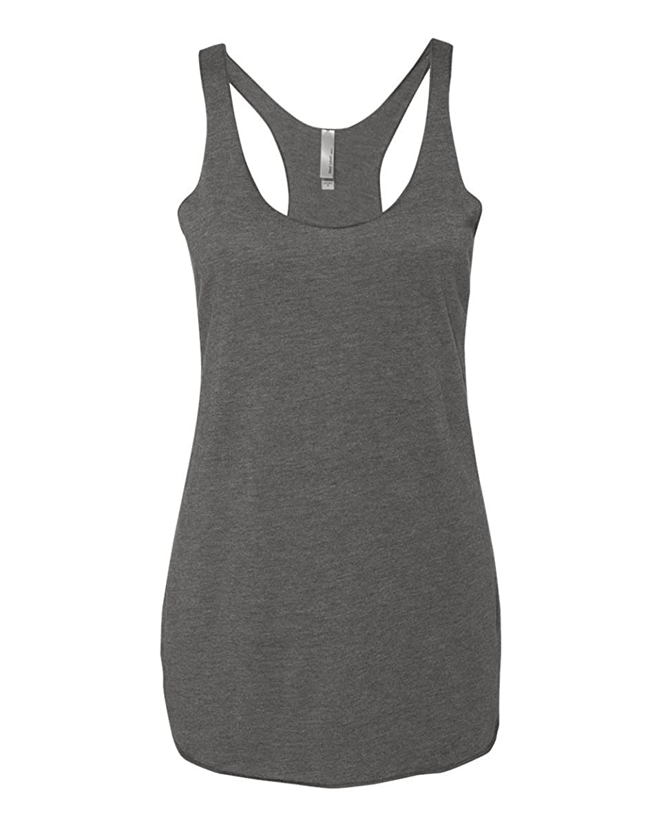 Next Level Women's Stylish Soft Tri Blend Racerback Tank Top 6733