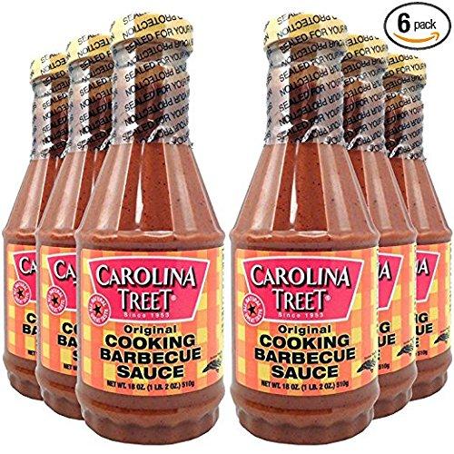 Carolina Treet Cooking Barbecue Sauce, Original Flavor, 18 O