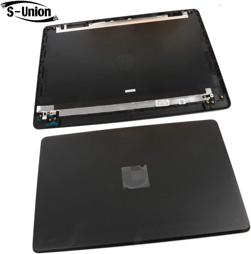 S-Union New Replacement LCD Back Cover for HP 15-BS015DX 15-BS020WM 15-BX0XX 15T-BS000 15-BW000 15T-BR 15T-BS 15Q-BU 15Z-BW 15.6