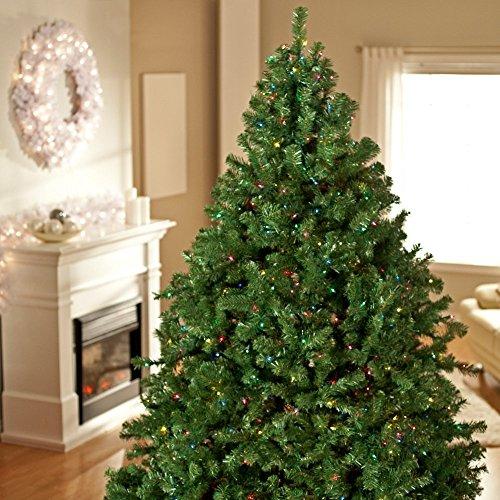 Classic Pine Full Pre-lit Christmas (Classic Pre Lit Christmas Tree)