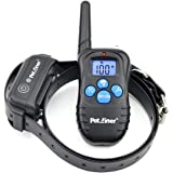 Petrainer Shock Collar for Dogs - Waterproof Rechargeable Dog Training E-Collar with 3 Safe Correction Remote Training Modes,