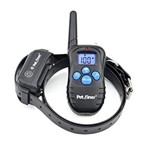 Petrainer PET998DBB1 Waterproof and Rechargeable Dog Shock Collar