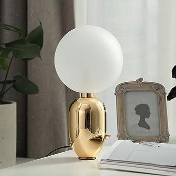 TTTD Lámpara de Mesa Minimalista Moderno de la Personalidad ...