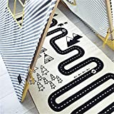 Car Racing Adventure Games Rug for Boys Play Mats Cotton Games Carpet Room Decoration Children Nursery Bedding Toy Kids Gift