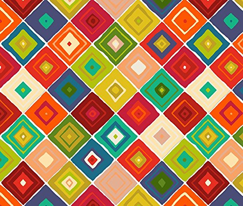 Navajo Fabric Diamante by Scrummy Printed on Performance Knit Fabric by the Yard by Spoonflower (Diamante Knit)