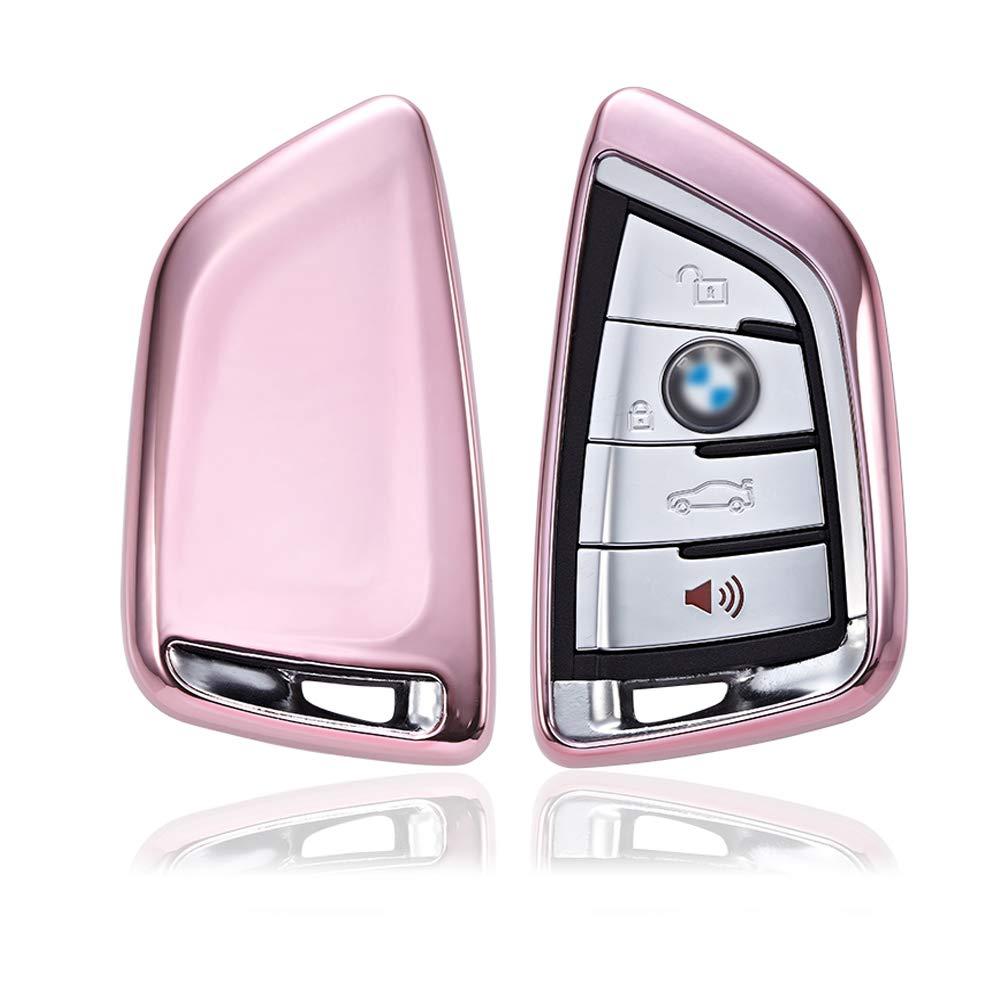 Carbon Soft Case Schutz H/ülle Auto Keyless Schl/üssel f/ür BMW X5 F15 X6 F16 2er F45 F46 X1 F48 X3 G01 X4 G02