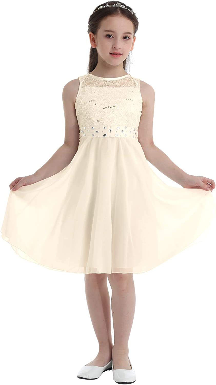 Kid Girls Princess Tutu Flower Tank Dress Party Wedding Bridesmaid Dress Tulle