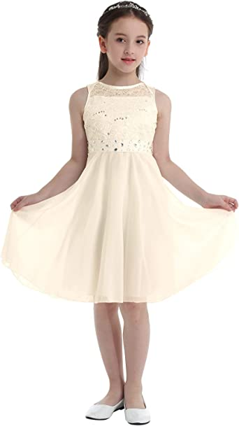 Flower Girl Dress Princess Party Wedding Bridesmaid Birthday High-low Hem Gown